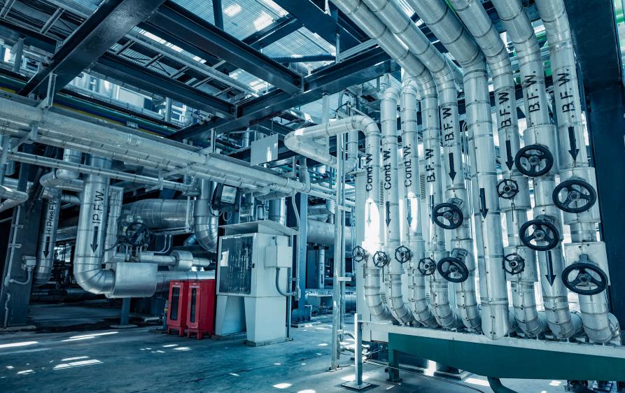 Sicherheit von Maschinen und Anlagen
